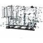 Динамический конструктор Космические горки уровень 9 - 231-9