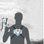 Набор для лазертага Wineya Call of Life Star-Team (2 бластера + 2 жилета) - W7008DV/W