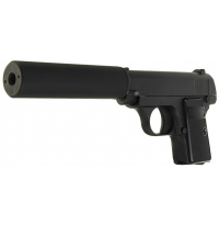 Пистолет металлический Colt 25 пневматика, 25 см - G.1A