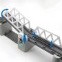 Железная дорога с раздвижным мостом, скоростной поезд, длина полотна 914 см - BSQ-2184