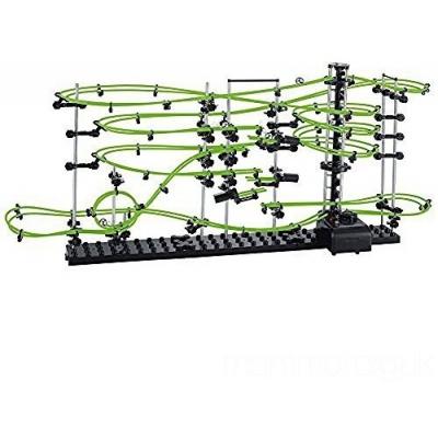 Динамический конструктор Космические горки, новая серия, светящиеся рельсы, уровень 3 - 233-3G