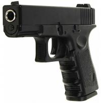 Пистолет металлический Glock 17 пневматика, 18,5 см - G.15
