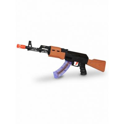 Автомат АК-47 на батарейках свет, звук, вибрация - 998-08