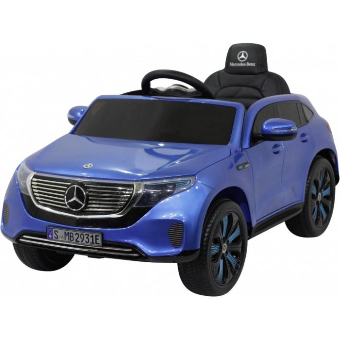 Детский электромобиль Mercedes Benz EQC 400 4MATIC - HL378-LUX-BLUE-PAINT