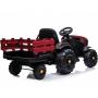 Детский электромобиль Bettyma трактор с прицепом 2WD 12V - BDM0925-RED