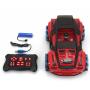 Радиоуправляемая машина ZeGan Сrazy Drift 1:16, красный - ZG-C1432-RED