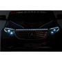 Детский электромобиль Mercedes Benz Police EQC 400 4MATIC - HL378-WHITE