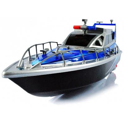 Радиоуправляемый полицейский катер 1:20 2.4G - HT-2875B