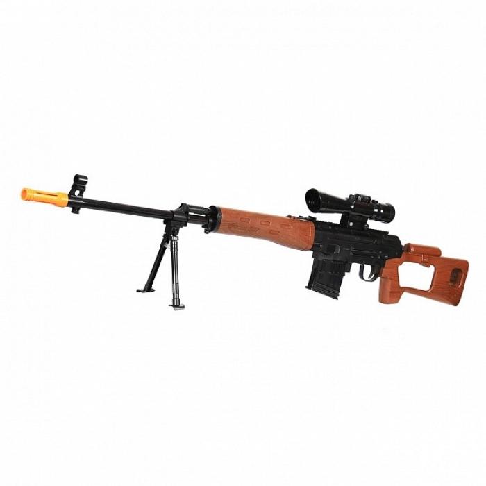 Механическая винтовка СВД (118см) с гелевыми пулями - 602-C/702A