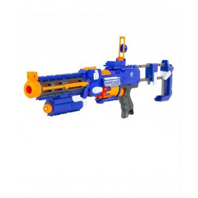 """Автомат """"BlazeStorm"""" с мягкими пулями на батарейках + лазер - 7056"""