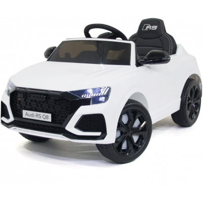 Детский электромобиль Audi RS Q8 12V 2WD - HL518-LUX-WHITE