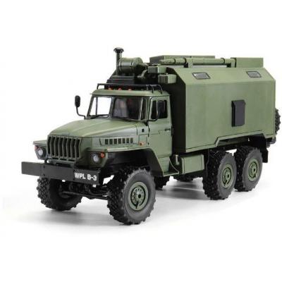 Радиоуправляемый внедорожник WPL Советский военный грузовик Урал 4WD 1:16 2.4G - WPLB-36