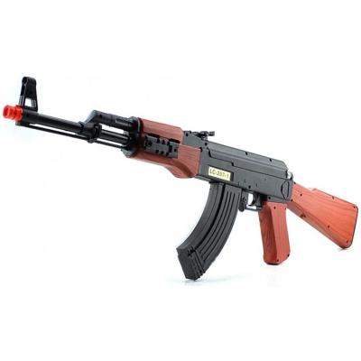Автомат АК-47 c гильзами (75см, на батарейках) - LC207-1