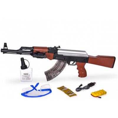 Автомат с гелевыми пулями на аккумуляторе (2 режима стрельбы + лазер)