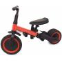 Детский беговел-велосипед 4 в 1 с родительской ручкой, красный - TR007-RED