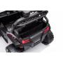 Детский электромобиль багги с прицепом (белый, 12В, 2WD, EVA, пульт) - BDM0929-WHITE-TRAILER