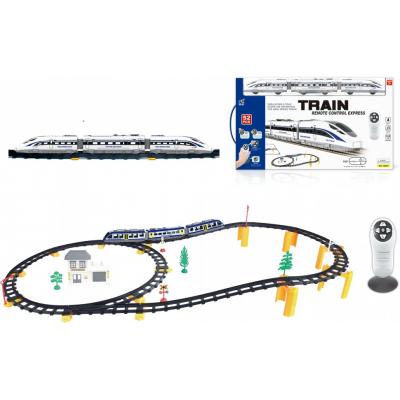 Железная дорога с пультом управления (поезд Сапсан, длина полотна 396 см, свет, звук) - 2806Y-2