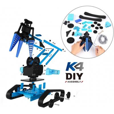 Конструктор BKN DIY 100 деталей - ру машина с электромеханическим манипулятором - K4-DIY