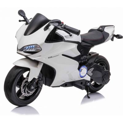 Детский электромобиль мотоцикл Ducati White (дисковый тормоз, 16 км/ч, 24V) - SX1629