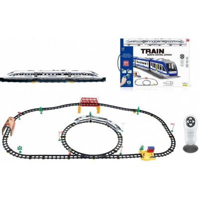 Железная дорога с пультом управления (поезд Сапсан, длина полотна 618 см, свет, звук) - 2808Y-2