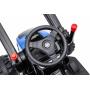 Детский электромобиль трактор с ковшом и пультом управления (синий, 2WD, EVA) - HL389-LUX-BLUE