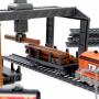 Радиоуправляемая железная дорога BSQ со станцией загрузки леса - BSQ-2282