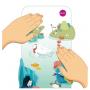 Игрушка на стену Магнитная игра Vertiplay Таинственный аквариум