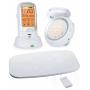 Радионяня с двумя детскими блоками и монитором дыхания Ramili Baby RA300DUOSP