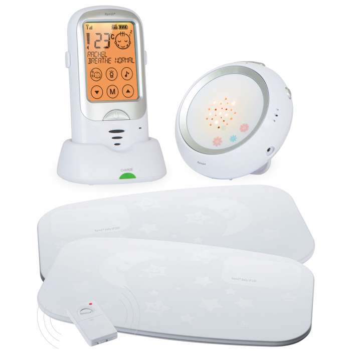 Радионяня с расширенным монитором дыхания Ramili Baby RA300SP2