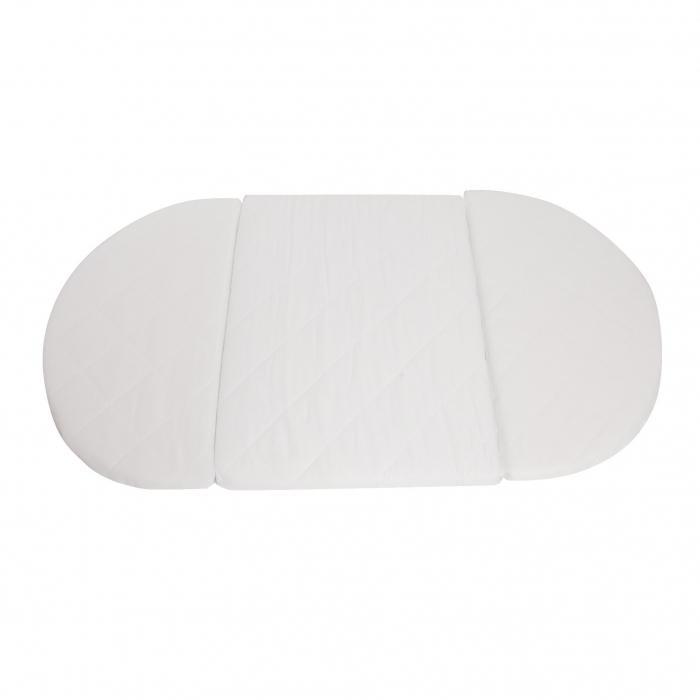 Матрас трансформер ComfortBaby для овальной/круглой кроватки
