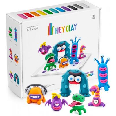 Воздушный пластилин для лепки Hey Clay Залипаки - Пришельцы
