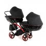 Коляска детская для двойни 2 в 1 Junama Individual Duo Slim