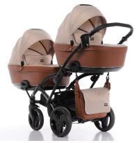 Коляска детская для двойни Tako Corona Lite Duo slim 2 в 1