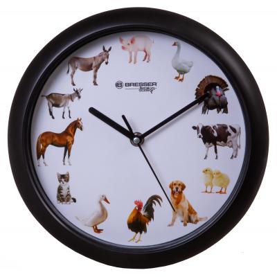 Часы настенные Bresser Junior 25 см с животными