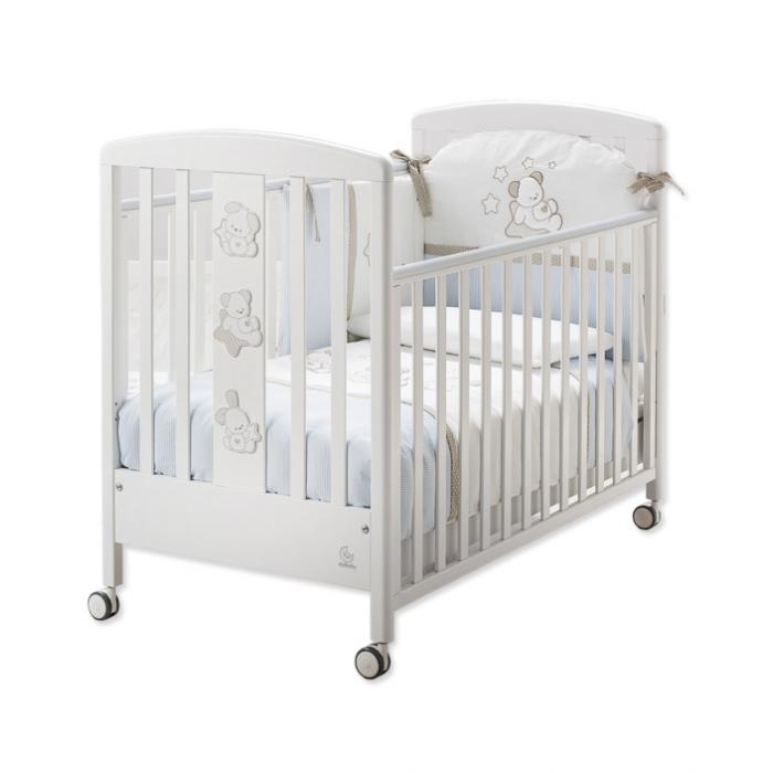 Детская кровать Italbaby Sweet Star белая