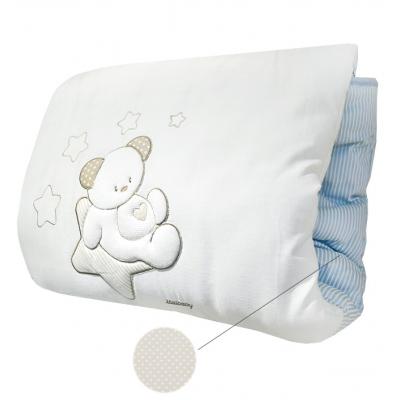 Теплое стеганое игровое одеяло Italbaby Sweet Star крем