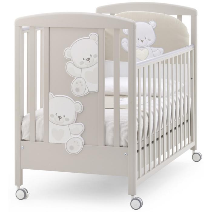 Детская кровать Italbaby Baby Jolie крем