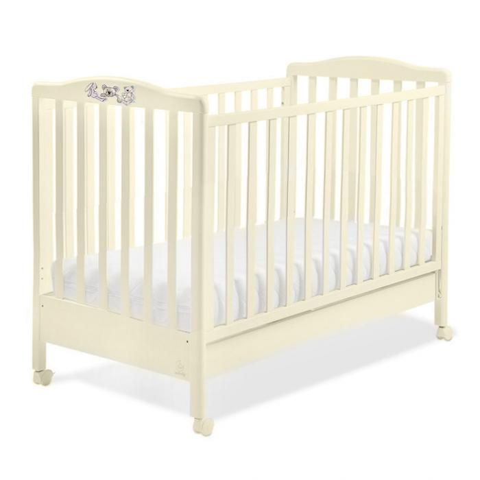 Детская кровать Italbaby Hello крем