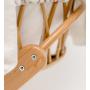 Деревянная складная подставка Italbaby для люльки колыбели белая
