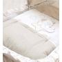 Кроватка-люлька Italbaby Sweet Star с капюшоном крем