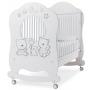 Детская кровать Italbaby Happy Family Oblo белая