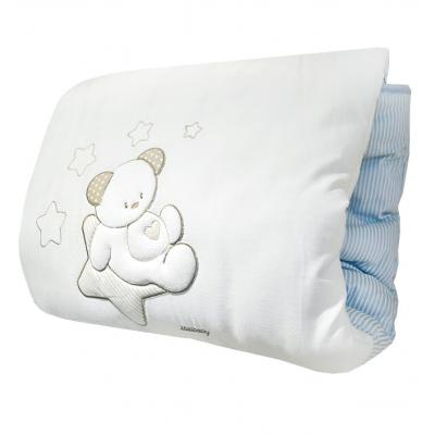 Теплое стеганое игровое одеяло Italbaby Sweet Star голубое