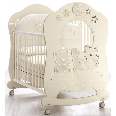 Детская кровать Italbaby Happy Family Oblo крем