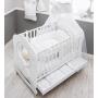 Кровать Italbaby Love Oblo белая
