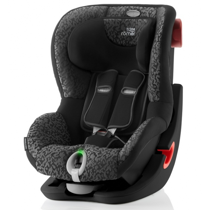 Детское автокресло Britax Roemer King II LS Black Series