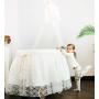 Кроватка-люлька Italbaby Romantic с балдахином белый