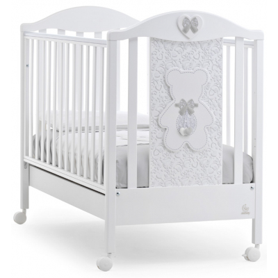 Детская кровать Italbaby Fiocco Classic белая