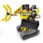 Конструктор 2 в 1 (экскаватор и робот) QiHui Technics 342 детали - QH6801