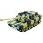 Радиоуправляемый танк M1A2 Abrams Yellow Edition масштаб 1:20 27Мгц