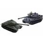 Радиоуправляемый танковый бой T34 Tiger масштаб 1:28